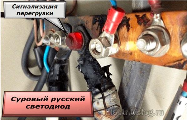 Суровый русский светодиод