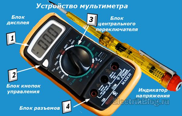 Устройство мультиметра