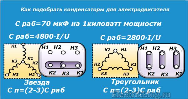 Как подобрать конденсаторы