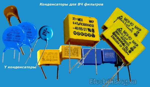 Конденсаторы для ВЧ фильтров