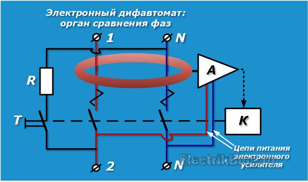 Электронный дифавтомат
