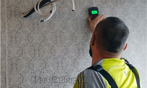 Приборы для поиска скрытой проводки