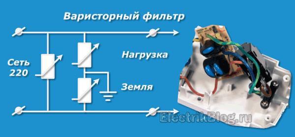Варисторный фильтр