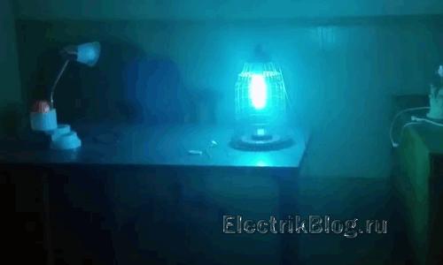 Бактерицидная ультрафиолетовая лампа