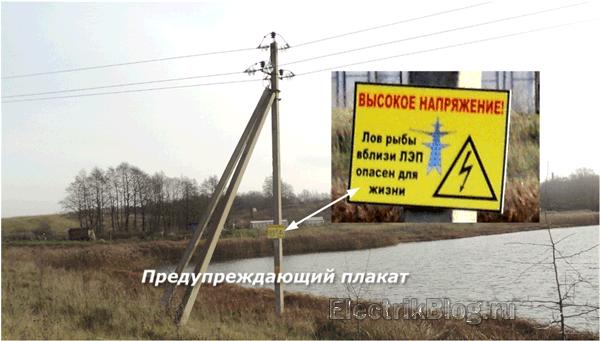 Предупреждающий плакат