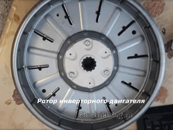 Ротор инверторного двигателя