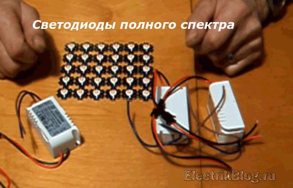 Светодиоды полного спектра