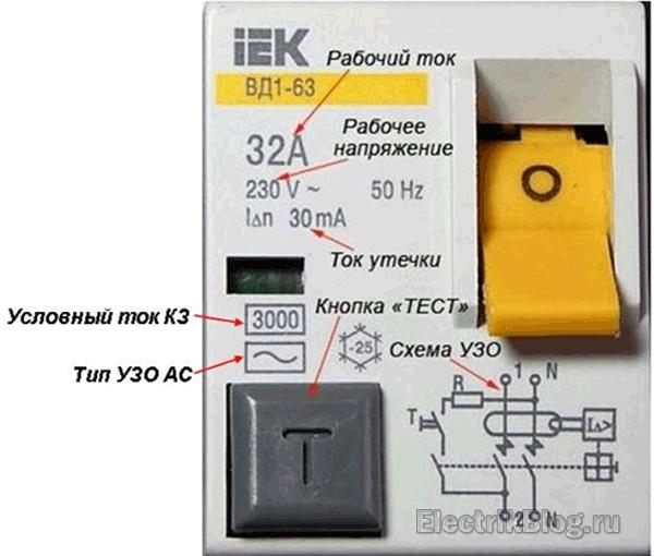 IEK ВД1-63