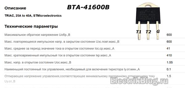 BTA-41600B