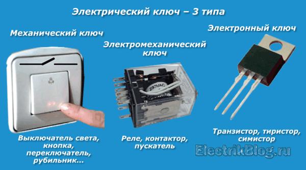 Электрический ключ