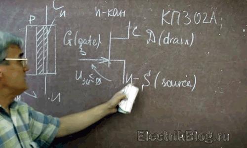 Как работает полевой транзистор