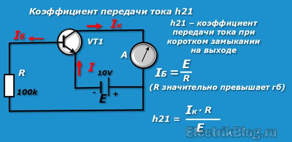 Коэффициент передачи тока